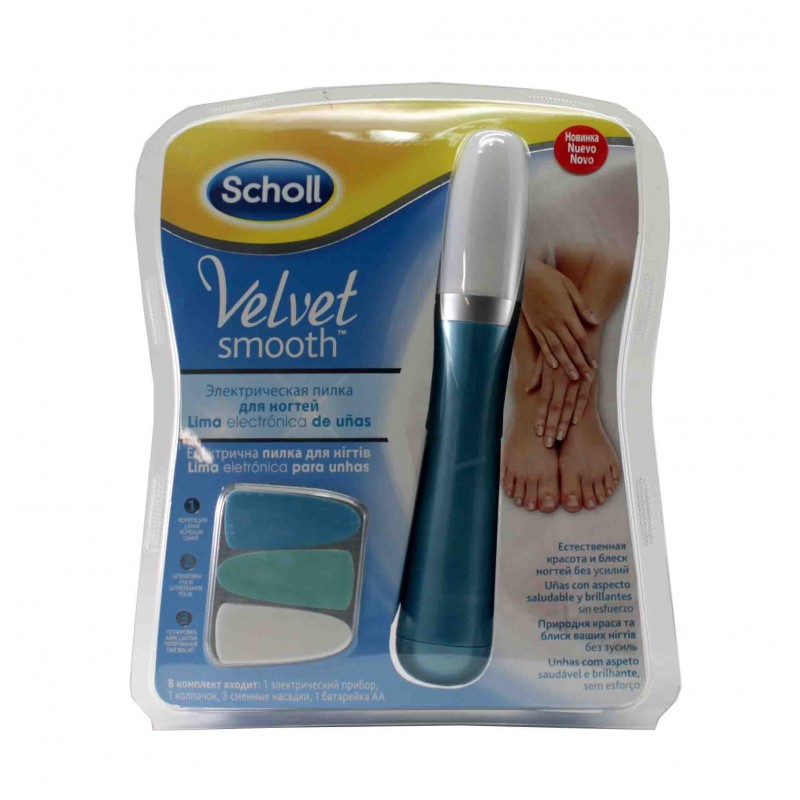 Scholl lima uñas Velvet smooth