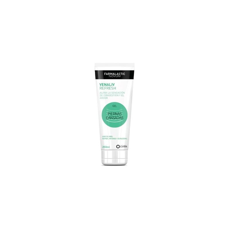 Farmalastic gel piernas cansadas Novum Venaliv refresh 250 ml
