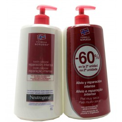 Neurogene Körperlotion Intense Repair Duplo Repair 2X750 ml