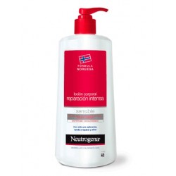 Neutrogena Lotion corporelle Réparation intense Peau sensible 750 ml