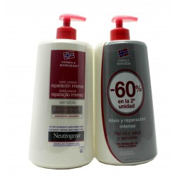Neurogenic Body Lotion Intense Repair Sensitive Skin Duplo 2X750 ml