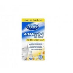 Optrex Attimista 2 in 1 Prurito oculare + Strappo 10 ml