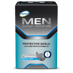 Tena for men escudo protector extra light 14 unidades