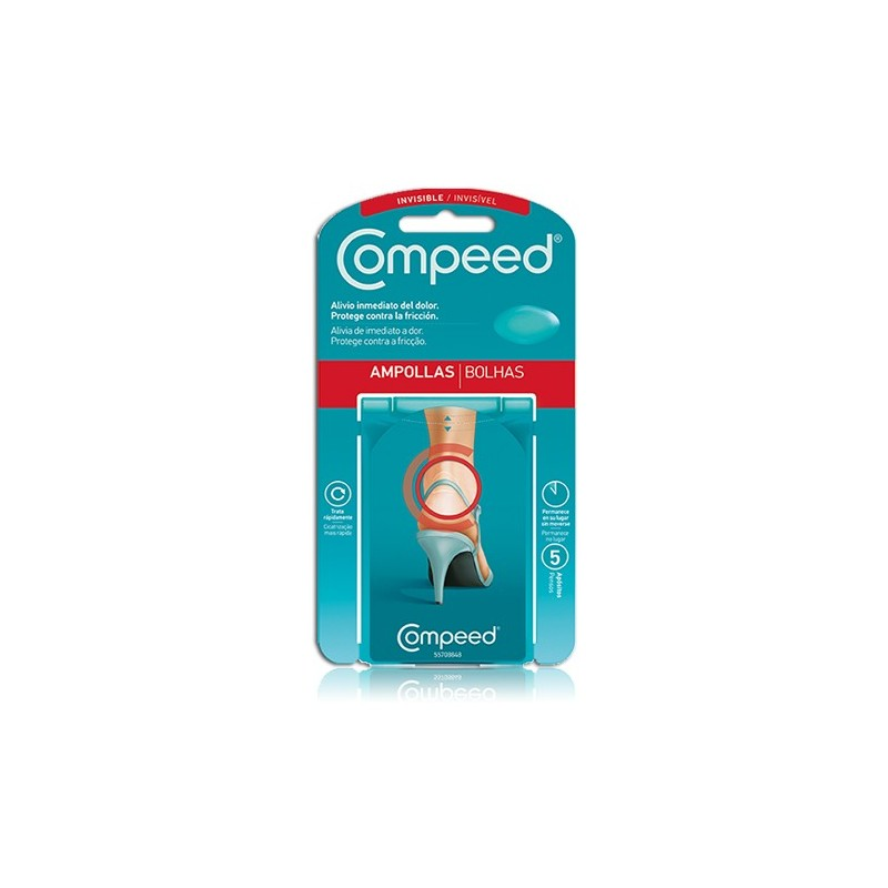 COMPEED Ampollas Invisibles - 5 uds.