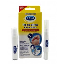 Dr Scholl Athlete's Foot Pencil 4 ml + Spray 10 ml
