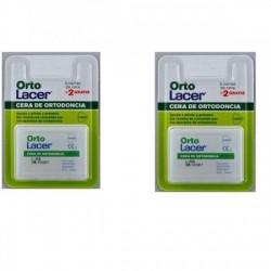 Ortolacer lacero cera ortodontica pacco 2X7 bar