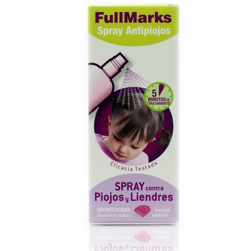 Fullmarks spray antipiojos + liendrera 150 ml