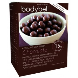 Bodybell Tentempie Pearls Soy Chocolate 6 Envelopes
