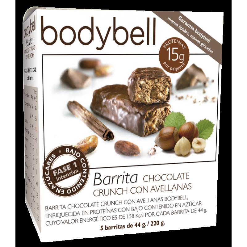 Bodybell Chocolate Crunch Bars with Hazelnut 5 You 1st Gluten-Free Phase