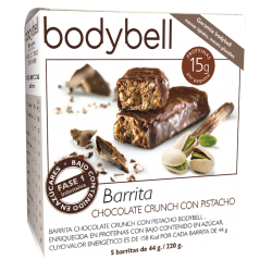 Bodybell Chocolate Crunch Bars with Pistachio 5 You 1st Gluten-Free Phase