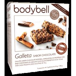 Biscotti al cioccolato Bodybell  Box  5 pz prima fase