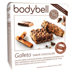 Bodybell Chocolate Biscuits  Box  5 pcs 1st Phase