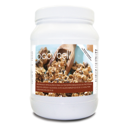 Bodybell Chocolate and Caramel Muesli Boat 450 g
