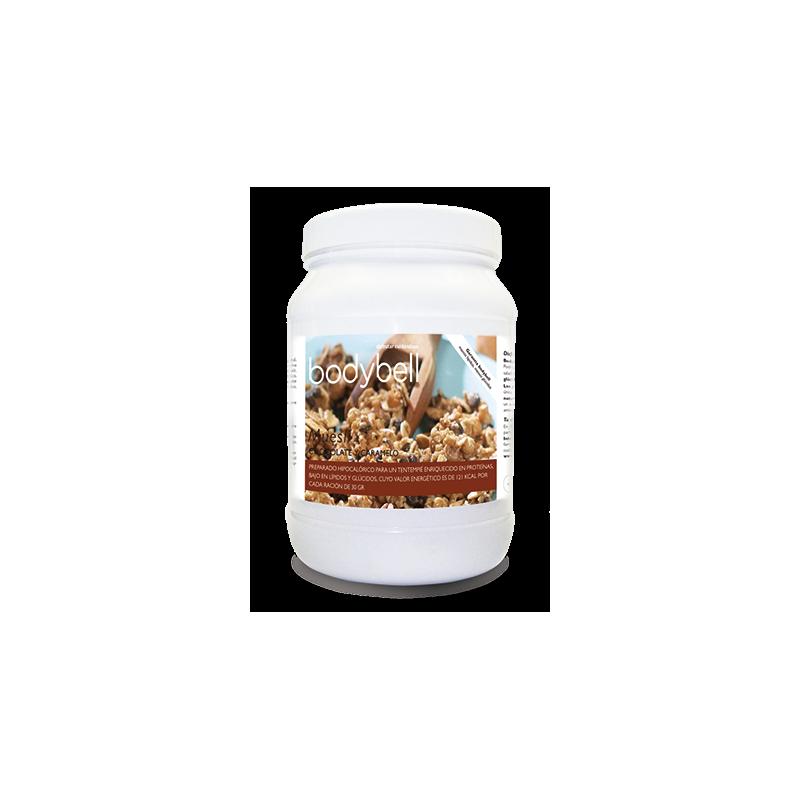 Bodybell Chocolate and Caramel Muesli Boat 450 g