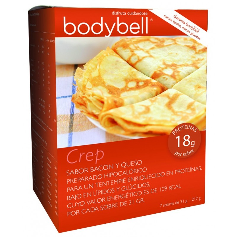 Bodybell Crep Bacon-Cheese Box 7 Envelopes