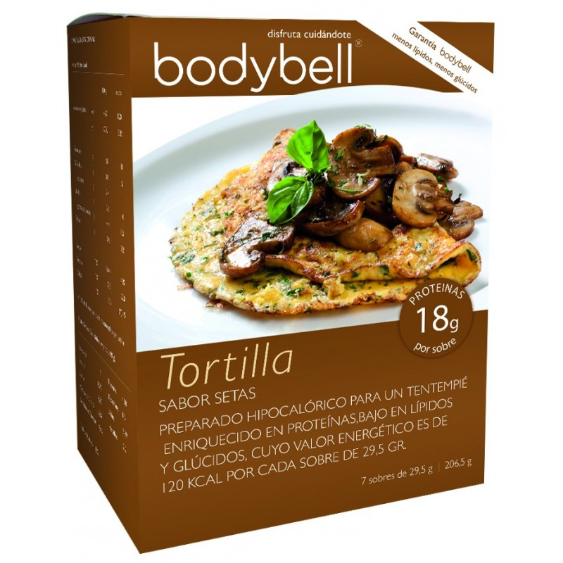 Bodybell Box Tortilla Mushrooms 7 Envelopes