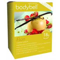 Bodybell Flan Vanilla Box 7 Buste