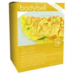Bodybell Box Tortilla Cheese 7 Enveloppes sans gluten