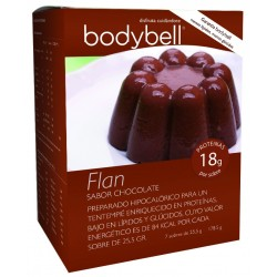 Bodybell Flan Chocolate Box 7 Enveloppes