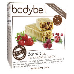 Bodybell Red Fruit Bars 5 You 1ère phase sans gluten
