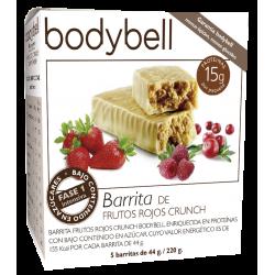 Bodybell Red Fruit Bars 5 You 1. Glutenfreie Phase