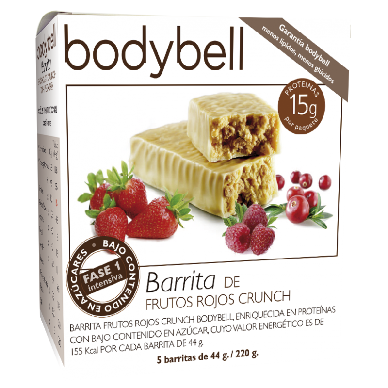 Bodybell Red Fruit Bars 5 You 1st Gluten-Free Phase