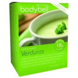 Bodybell Vegetable Cream Box 7 Envelopes