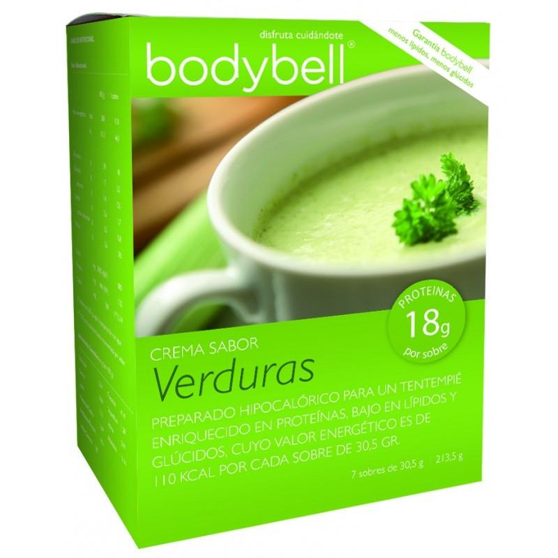 Bodybell Vegetable Cream Box 7 Envelopes