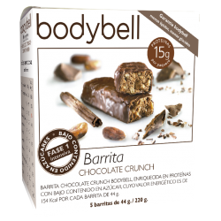 Bodybell Chocolate Crunch Bar 5 La 1a fase senza glutine