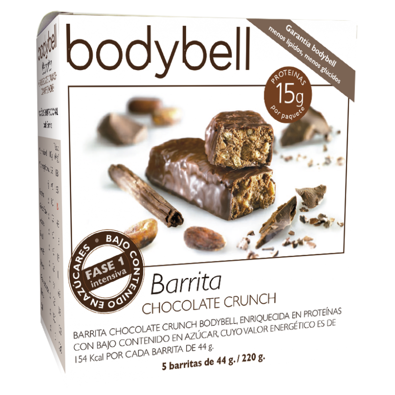 Bodybell Chocolate Crunch Bars 5 You 1st Gluten-Free Phase