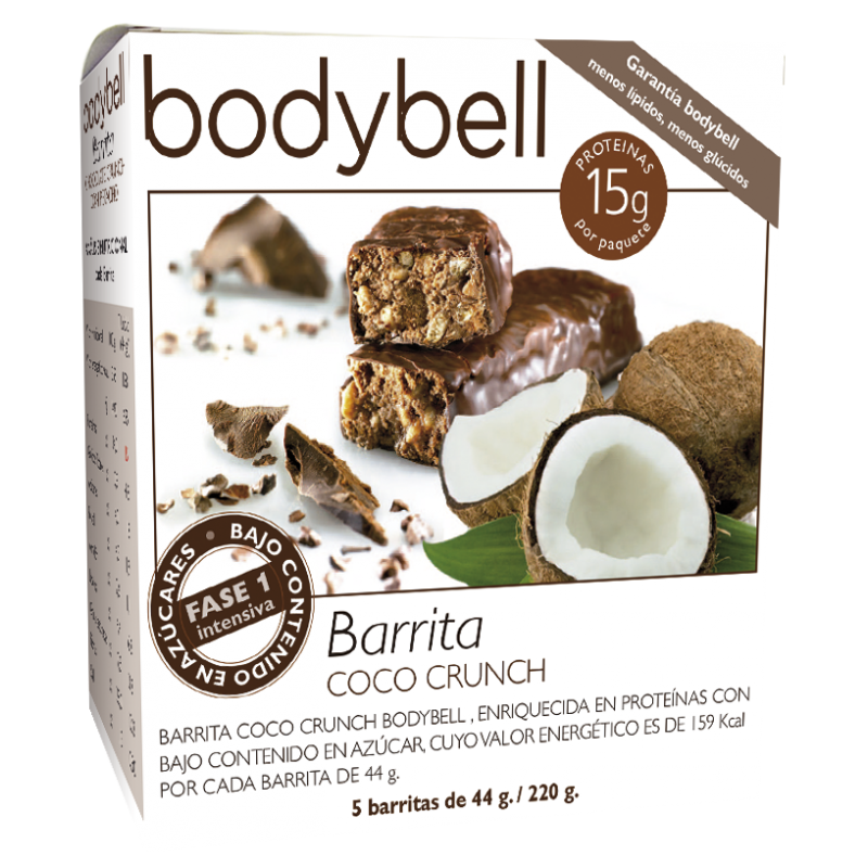 Bodybell Coco Bars 5 You 1st Gluten-Free Phase
