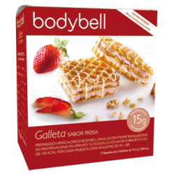 Bodybell Strawberry Biscuits Box  5 pcs 2º Phase
