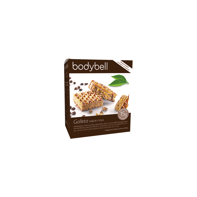 Bodybell Moka Biscuits Box  5 pcs 2nd Phase