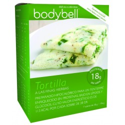 Bodybell Box Tortilla Fine Herbs 7 Gluten-Free Envelopes