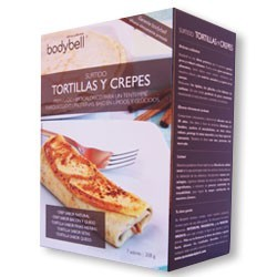 Bodybell Assorted Tortillas and Crepes Box 7 Envelopes