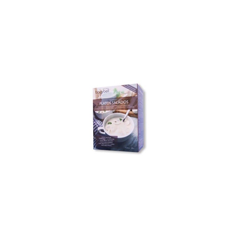 Bodybell Assorted Salty Dishes Box 7 Envelopes