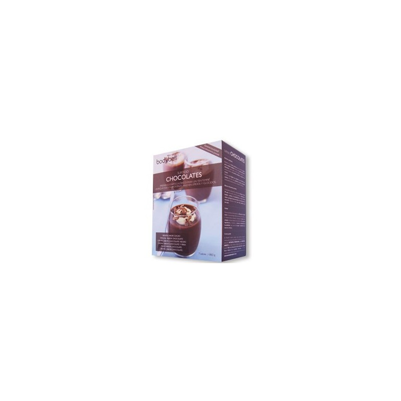 Bodybell Assorted Chocolates Box 7 Envelopes