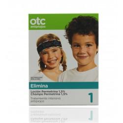 OTC Pacchetto Anti-Piojos Permetrina Lotion 125ml - Shampoo 125ml
