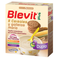 Blevit Plus 8 Cereals and Biscuits Double 600 grams