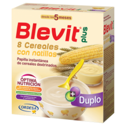 Blevit Plus Duplo 8 Cereals  + Custard  600 grams
