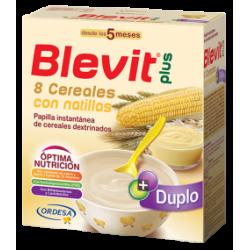 Blevit Plus Duplo 8 Cereali  + crema pasticcera  600 grammi
