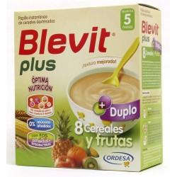 Blevit Plus Duplo 8 Cereals and Fruit 600 grams