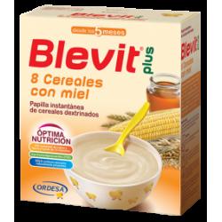 Blevit Plus 8 Cereals Honey 600 gr