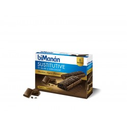 Bimanan Bar al Cioccolato Intenso 8 Uni 40 g