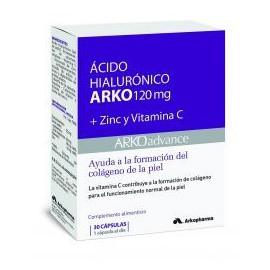 Acido Ialuronico Arko 120 mg 30 Capsule