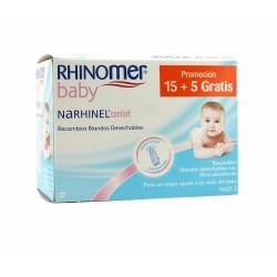 Rhinomer Baby Narhinel Comfort 15 x 5 pezzi di ricambio