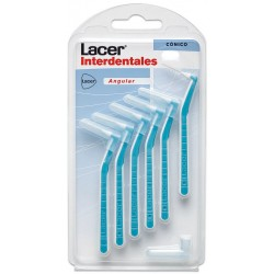 Lacer Brosse interdentaire conicale angulaire 6 Unités
