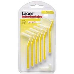 Lacer Winkel-Fein-Interdentalbürste 6 Einheiten