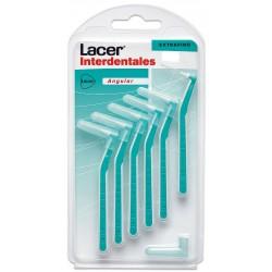 Lacer Winkel extrafeine InterdentalBürste 6 Einheiten