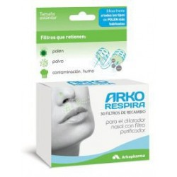 Reusable Nasal Dilator Arkorespira + 30 Filters